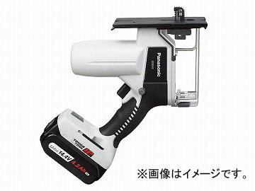 パナソニック/Panasonic リチウム充電角穴カッター 品番:EZ4543LS2S-B 黒 JAN:4549077103130