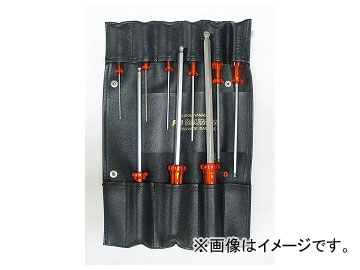 PB SWISS TOOLS ボールポイント六角棒ドライバーセット 品番:K206S-9 JAN:4545301017662