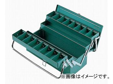 リングスター/RING STAR 工具箱 ハイクオリティボックス RSD高級三段式ツールBOX RSD-473 グリーン JAN:4963241000306