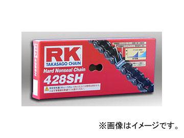 2輪 アールケー・エキセル/RK EXCEL ノンシールチェーン STD 鉄色 428SH 100F