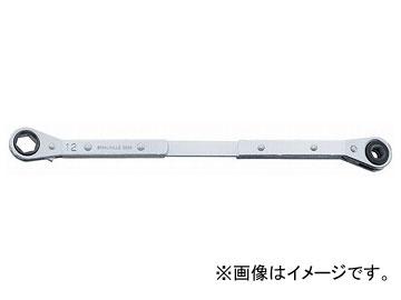 スタビレー/STAHLWILLE 板ラチェットメガネ(ロング)(41180812) 品番:25GK-8X12 JAN:4018754138258