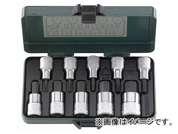 スタビレー/STAHLWILLE 1/2SQ インヘックスソケットセット(96030508) 品番:54/10 JAN:4018754079780