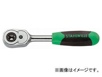 """スタビレー/STAHLWILLE 1/4""""ビット用ラチェットハンドル(11131011) 品番:415B JAN:4018754182480"""