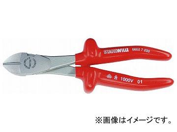 スタビレー/STAHLWILLE 絶縁強力斜ニッパー(66027160) 品番:6602 7 160 JAN:4018754137794