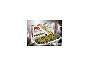 2輪 アールケー・エキセル/RK EXCEL シールチェーン GV ゴールド GV525R-XW 50F