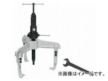 クッコ/KUKKO 3本アーム油圧プーラー 520mm 品番:11-1-B JAN:4021176006128