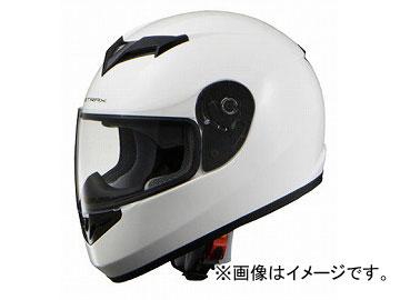 2輪 リード工業 STRAX フルフェイスヘルメット ホワイト 選べる3サイズ SF-12