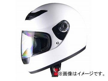 2輪 リード工業 CROSS フルフェイスヘルメット ホワイト フリーサイズ(57~60cm未満) CR-715