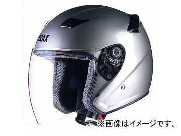 2輪 リード工業 STRAX ジェットヘルメット シルバー 選べる3サイズ SJ-8