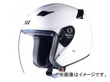 2輪 リード工業 STRAX ジェットヘルメット ホワイト 選べる3サイズ SJ-8