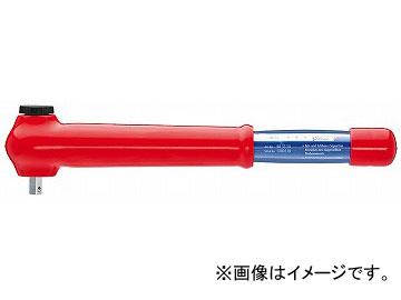 クニペックス/KNIPEX 絶縁トルクレンチ NM仕様(5-50NM) 3/8SQ 品番:983350JP JAN:4003773073703
