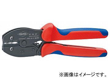 クニペックス/KNIPEX 圧着ペンチ 品番:9752-37 JAN:4003773063193