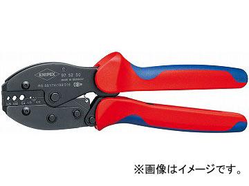 クニペックス/KNIPEX 圧着ペンチ 品番:9752-50 JAN:4003773051916
