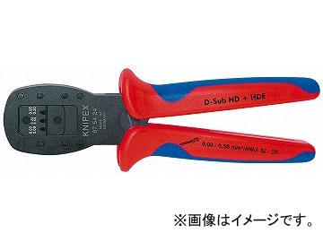クニペックス/KNIPEX 平行圧着ペンチ 品番:9754-24 JAN:4003773060215