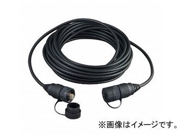 ジェフコム/JEFCOM 屋外用LANコネクタ付ケーブル 20m LCAT5E-WP20M JAN:4937897510656