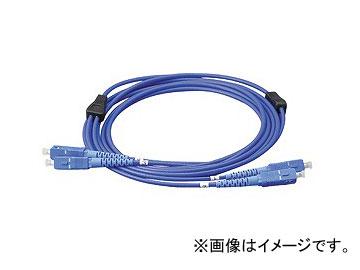 ジェフコム/JEFCOM 外装付オプティカルファイバーパッチケーブル LARM-SCSM-10 JAN:4937897515521