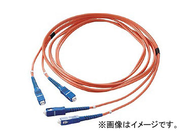 ジェフコム/JEFCOM オプティカルファイバーパッチケーブル LFV-SCMM-10 JAN:4937897515354