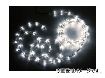 ジェフコム/JEFCOM LEDソフトネオン 64m/ホワイトゴールド・ホワイトゴールド(ロッドのみ) PR3L-E24-64HH JAN:4937897129131