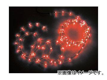ジェフコム/JEFCOM LEDソフトネオン 8m/赤・赤(ロッドのみ) PR3L-E24-08RR JAN:4937897128073