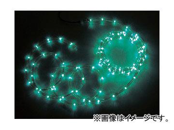 ジェフコム/JEFCOM LEDソフトネオン 8m/緑・緑(ロッドのみ) PR3L-E24-08GG JAN:4937897128257