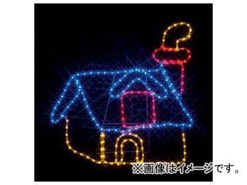 ジェフコム/JEFCOM LEDモチーフ(SJシリーズ) 煙突のある家 SJ-A19-N JAN:4937897124907