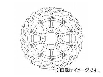 2輪 アクティブ モトマスター フレイムディスク フロント/左 MM113013SB JAN:4538792648552 カワサキ ZXR400 1991年~2000年
