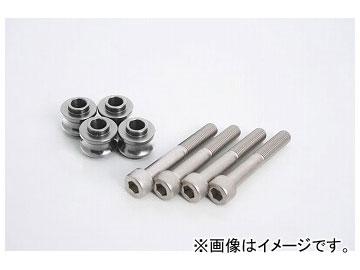 2輪 アクティブ ハイパープロ オフセットカラー 10mm/ボルト70mm/シルバー 1470084S JAN:4538792779621