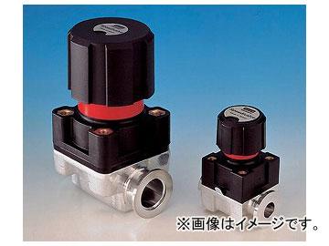 アズワン/AS ONE ダイヤフラムバルブ(手動式) SP40K(バイトン(R)) 品番:1-3059-14