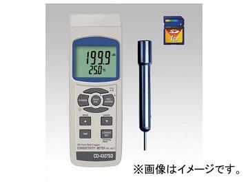 アズワン/AS ONE データロガー導電率計 CD-4307SD 品番:1-1942-01 JAN:4986702202422