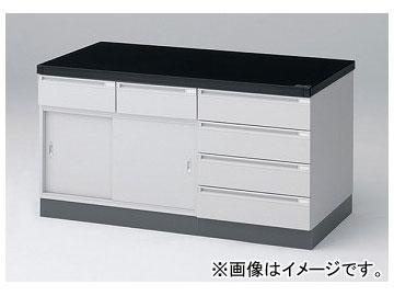 アズワン/AS ONE サイド実験台(引き戸仕様) SMA-1500R 品番:1-4901-01 JAN:4562108520904
