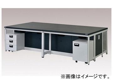 アズワン/AS ONE 中央実験台(スチールタイプ) AA-3015K 品番:3-2027-07 JAN:4571110696569
