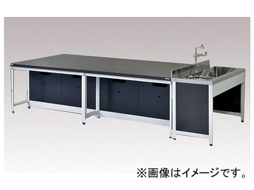 アズワン/AS ONE 中央実験台(スチールタイプ) AA-3615N 品番:3-2030-03 JAN:4571110696767