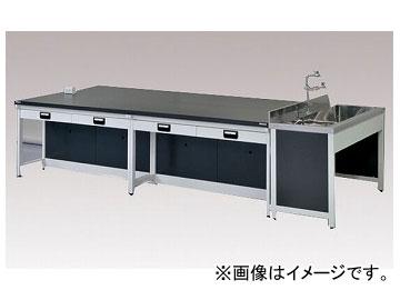 アズワン/AS ONE 中央実験台(スチールタイプ) AB-3615N 品番:3-2031-03 JAN:4571110696804
