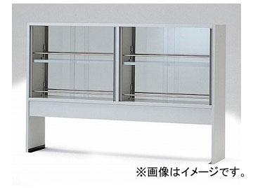 アズワン/AS ONE 試薬棚(両面型) ガラス戸付き TEB-1500 品番:3-5781-03 JAN:4571110680223