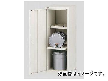アズワン/AS ONE ラボサーバーラック(薬品保管庫・ペール缶用) LSR-W-P 1列2段 品番:2-673-03 JAN:4571110730812
