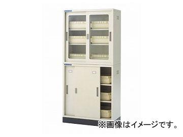 アズワン/AS ONE 耐薬引違保管庫 N-90セット 品番:3-065-11