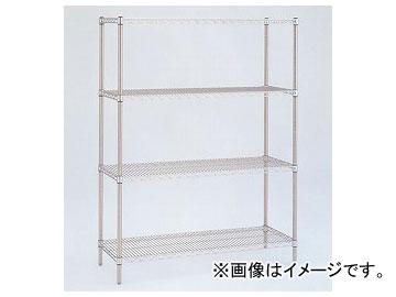 アズワン/AS ONE ステンレスエレクターシェルフ標準セット SLS1220SET 品番:1-4577-01