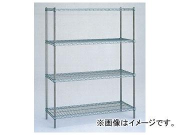 アズワン/AS ONE スーパーエレクターシェルフ標準セット LS610S 品番:3-322-01 JAN:4933315735434