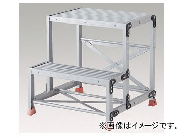 アズワン/AS ONE 踏台(アルミニウム合金製) TSF-256 品番:1-9523-02 JAN:4989999791518