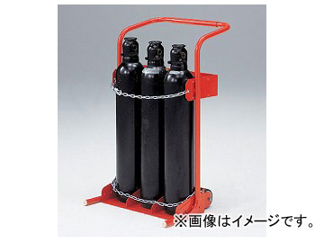 アズワン/AS ONE ボンベトラックスタンド 10-3型 品番:1-6084-01 JAN:4560111768344
