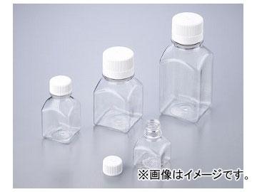 アズワン/AS ONE 角型培地瓶(PETG製・滅菌済) 60ml 2019-0060 品番:1-1500-02