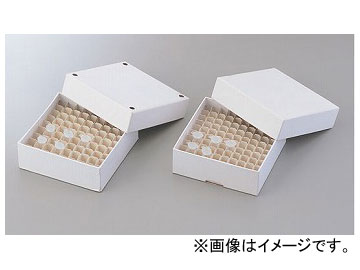 アズワン/AS ONE フリーズボックス 4角穴付き C5520-100-PH 品番:1-4851-02 JAN:4580110248470