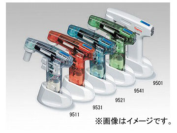 アズワン/AS ONE 電動ハンドピペッター(SI Pipette Filler) 9521(透明青) 品番:1-7072-13