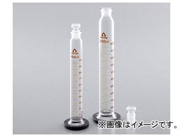 アズワン/AS ONE 有栓メスシリンダー(硬質ガラス製) 500ml 品番:6-234-08