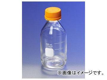 アズワン/AS ONE メディウム瓶(PYREX(R)オレンジキャップ付き) 透明/10000ml 品番:1-4994-09