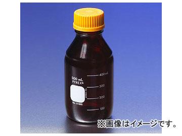 アズワン/AS ONE メディウム瓶(PYREX(R)オレンジキャップ付き) 遮光/5000ml 品番:1-4993-08