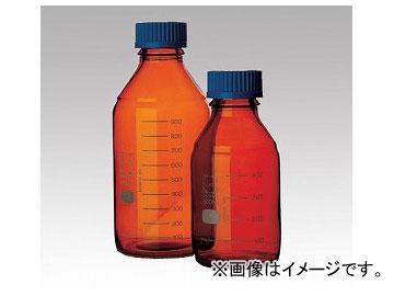 アズワン/AS ONE ねじ口瓶丸型茶褐色(デュラン(R)・017210) 2000ml 品番:1-1961-07