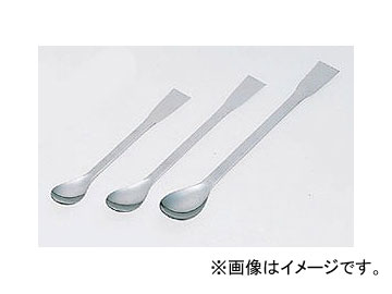 アズワン/AS ONE スプーン(ステンレス製) ヘラ付き/600mm 品番:6-523-11 JAN:4580110242799