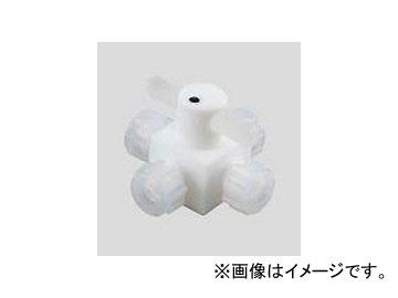 アズワン/AS ONE アズフロン(R)バルブ圧入型 四方 品番:2-503-04 JAN:4571110721476