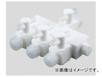 アズワン/AS ONE アズフロン(R)マニホールド装置 3連式 AF-6MH3 品番:2-779-01 JAN:4571110720394